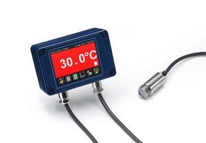 タッチスクリーン付き放射温度計 PyroMiniシリーズ